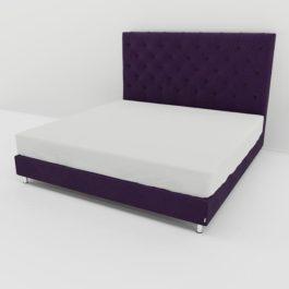Бесплатная доставка, оплата при получении, любой размер и цвет. Успейте купить в Москве со скидкой кровать Флорида с каретной стяжкой от производителя
