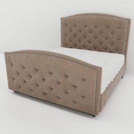 Бесплатная доставка, оплата при получении, любой размер и цвет. Успейте купить со скидкой кровать Вирджиния с каретной стяжкой от производителя в Москве