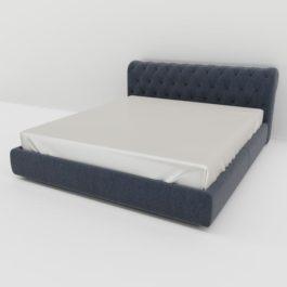 Бесплатная доставка, оплата при получении, любой размер и цвет. Успейте купить недорого кровать Прага с каретной стяжкой от производителя в Москве
