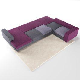 Бесплатная доставка, оплата при получении, любой размер и цвет. Успейте купить от производителя модульный диван Ибица недорого в Москве со скидкой