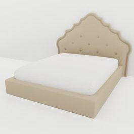 Бесплатная доставка, оплата при получении, любой размер и цвет. Успейте купить недорого интерьерную кровать Луизиана от производителя в Москве
