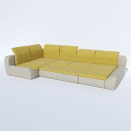 Бесплатная доставка, оплата при получении, любой размер и цвет. Успейте купить со скидкой недорого модульный диван Марсель от производителя в Москве