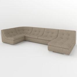 Бесплатная доставка, оплата при получении, любой размер и цвет. Успейте купить со скидкой модульный диван Монреаль-ПУМА недорого от производителя в Москве